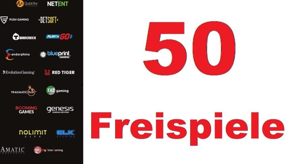 50 freispiele ohne einzahlung sofort erhältlich